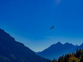 Anflug Landung